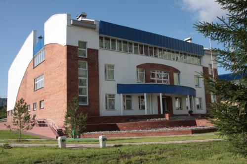 Здание спорткомплекса БСМП№1 г. Омск